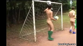 Gay soccer players sex - Horny latino gay outdoor anal fucking