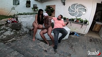Binho Ted tentando tirar a concentração de Jhonny Gab para ver se ele broxa - Amaya Takayo Atriz - Vagninho - Lidy Silva