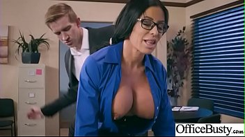 Alana de la garza nude pictures Hard sex tape in office with big round tits sexy girl simone garza video-29