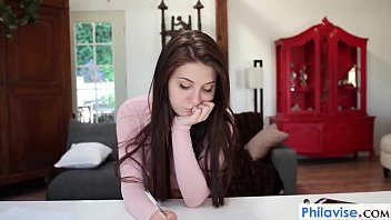 PHILAVISE-Cheating teen gets a nice pussy lick 7 min