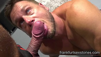 Sauna berlin gay - German hunk gets seduced and fucked by horny muscle daddy in fetish store