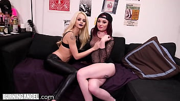 BurningAngel Dirty Fan Elsa Jean Goes Hard On The Rock Band Leader With GF