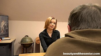 Perky titted teen Sofia gets fucked by old Woody 8 min