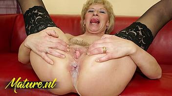 Hairy Stepmom Anal Creampied By Her Horny Stepson