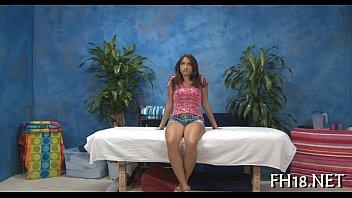 Cheerful ending massage video