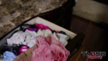 Punishment For Sniffing Stepmoms Panties: Make Mom Cum