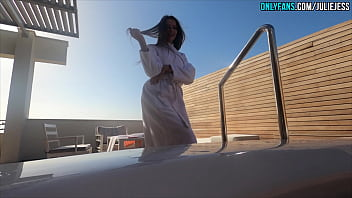 Jacuzzi With Stepsister Goes Wrong - Cum On Face 4K POV