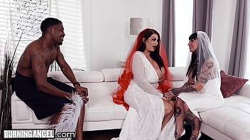 BurningAngel BBW Bride With HUGE Tits Has The Fuck Of Her Life With The Groomsman Porno indir