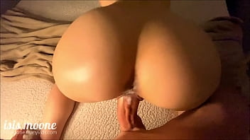 Amateur Girlfriend Twerks Her Big Ass On Dick Until She Cums All She Wants Then Ruin His Orgasm - PAWG  - Isis Moone