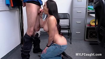 Busty Latina MILF Gets Caught Stealing- Sheena Ryder