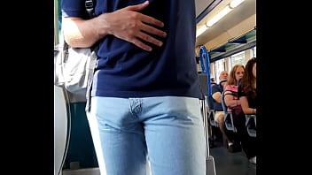 Mala grande no trem big bulge