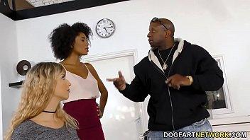Ebony Boss Luna Corazon Has Lesbian Sex With Shona River 8 min