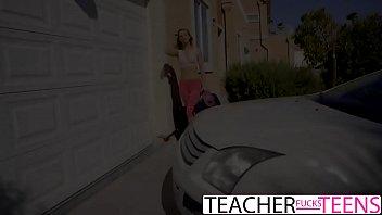 Lesbian Teacher Seduces Teen Students In Threeway-www.sexxycamz.com