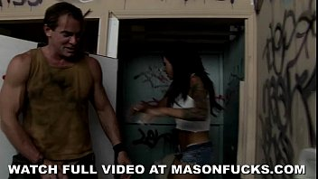 Mason Moore Fucks In a Dirty Bathroom