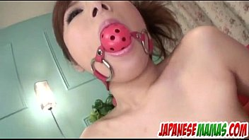 Amu Kosaka Gagged And Fucked In Rough Manners