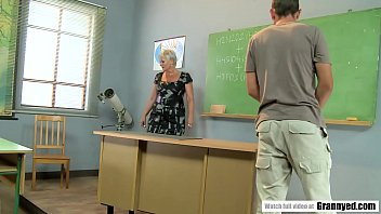 Fuck old student teacher Pervert student fucks mature teacher