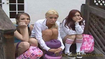 3 Young Girls A re Nasty Lesbian Sluts n Sluts