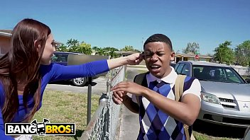 BANGBROS - Young Black Student Lil D Gets Anatomy Lesson From Aidra Fox
