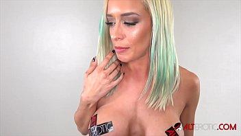 Busty blonde Vanessa Sky gets tattooed then fucked 11 min
