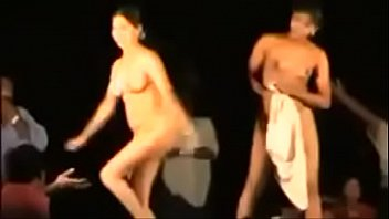 Naked women nude girls Indian women dancing completely naked live in front of village crowd