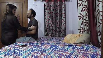 Beshamal Malkin Real Sex With Refrigerator Technician!! Clear Hindi Audio