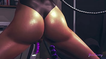 Yaoi Femboy 3D ash in a Sex Machine Japanese asian manga anime game porn gay