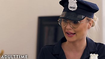 Caught Fapping - Officer Natalia Starr Caught Him With his Cock Out
