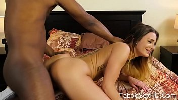 Interracial sex with stepdaddy