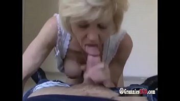 Grannies fucked for money - French blonde granny gilf loves to fuck for money