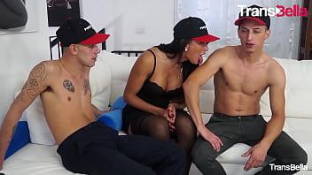 "TRANSBELLA - (Raphaela Martins Fabry Horse & Maurizio Mazza) Crazy Threeway With A Sexy Ass Brazilian Tranny <span class=""duration"">14 min</span>"