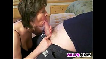 Naughty Granny Gives A Great Blowjob