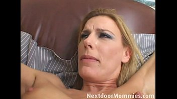 Blonde mom fingered and ass fucked video