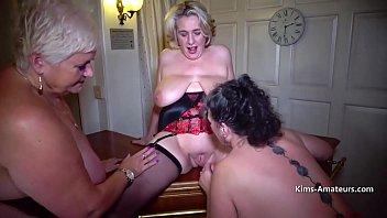 Three Large Breasted Mature Amateurs