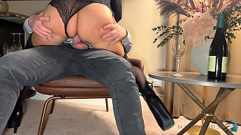 Business Trip Sex - Boss Meets Secretary In Suspenders In Hotel Room To Fuck Without Protection, Business-bitch
