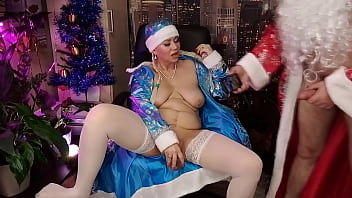 Snow Maiden's wet pussy and Santa's Magic Staff... )) #XMAS