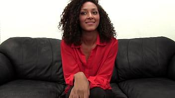 21yo Black Girl Olivia Pussy Fucked During Casting 10 min