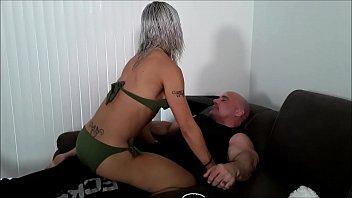 Adara grinds on my cock until I cum