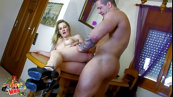 Hairy muscle blogs - Hot blonde milf fucked by muscle guy with big cock