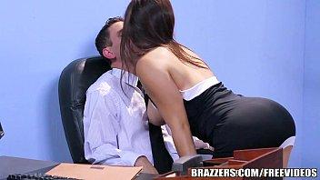 Brazzers Office Stocking Threesome 7 Min