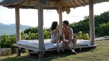 Rosemary Radeva- Hot Phillipino petite beauty has sea side passion on a resort island with new lover thumbnail