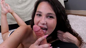 Hot TEEN allows her SUGAR DADDY to video a FUCK SESSION for $$ and the OLD MAN CREAM PIES HER!