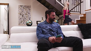 Cutie Cam Slut (Kenzie Reeves) Seduces Her Stepdad (Charles Dera) - Reality Junkies thumbnail