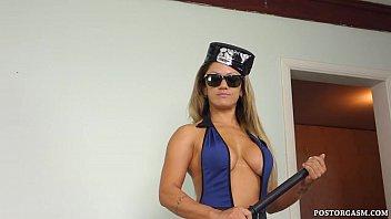 Officer Sonia Interrogation Handjob