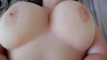 Bouncing Big Natural Tits