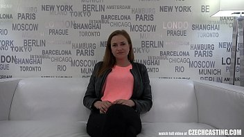 World Dance Champ With Amazing Breasts At Czech Casting