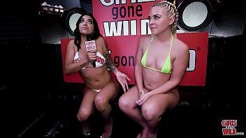 GIRLS GONE WILD - Mia Martinez Gets Rharri Rhound's Big