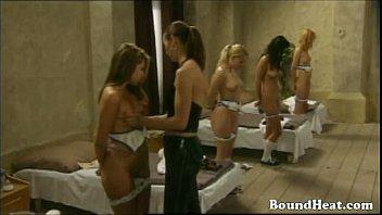 Lesbian slaves tube - Naughty lesbian slave school