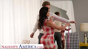 Naughty America - Victoria June gives a random groom one going away fuck before his wedding