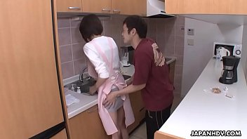 Boobies fuck - Maid getting fucked by the house owner