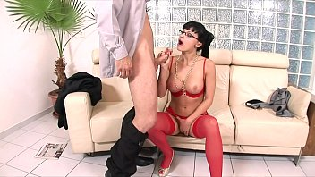 All three holes on perfect lingerie wearing whore Aletta Ocean get drilled with big dick - 69VClub.Com